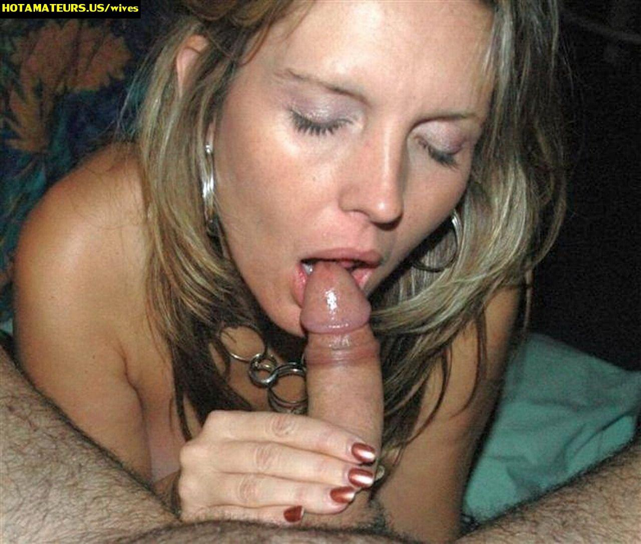CumOnWives presents: Amateur housewive blowjobs
