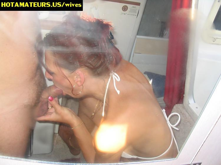 CumOnWives presents: Only real amateur facials