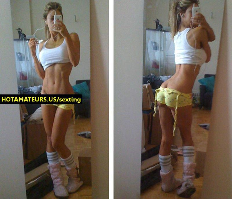 Gf with perfect enormous tits: crazy sexting pictures